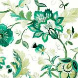 Green Capri Floral II Prints by Lanie Loreth