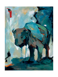 Watercolor Buffalo Premium Giclee Print by Brooke Tangney