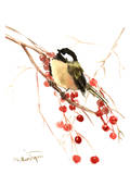 Chickadee 7 Prints by Suren Nersisyan