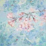 Yoshino Cherry Blossom II Prints by Ann Marie Coolick