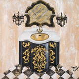 Opulance Bath I Prints by Tiffany Hakimipour