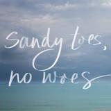 Sandy Toes Prints by Susan Bryant