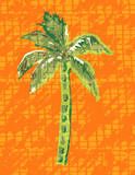 Cool Palm I Art by Nicholas Biscardi