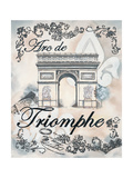 My Paris 2 Premium Giclee Print by Tina Epps