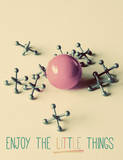 Enjoy the Little Things Posters by Gail Peck
