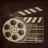 Now Showing Slate & Reel Posters by Gina Ritter