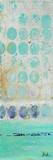 Dots on Silver Panel I Kunstdruck von Patricia Quintero-Pinto