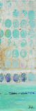Dots on Silver Panel I Poster by Patricia Quintero-Pinto