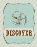 Discover Treasure Chest Plakat autor Tiffany Everett