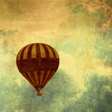 Air Balloon Ride Posters by Gail Peck