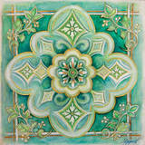 French Medallion I Prints by Janice Gaynor