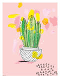 Cactus Prints by Paula Mills
