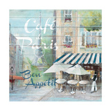 Café De Paris Bon Appétit Premium Giclee Print by Jurgen Gottschlag