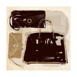 Mod Bags Premium Giclee Print by Katie York