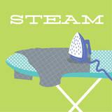 Laundry Steam Posters van Tiffany Everett