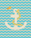 Nautical Anchor Posters by Tiffany Everett