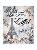 My Paris 3 Premium Giclee Print by Tina Epps
