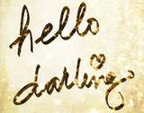 Darling Bella I Poster par  SD Graphics Studio