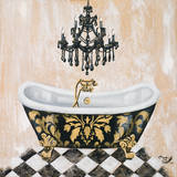 Opulance Bath II Posters by Tiffany Hakimipour