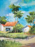 House on the Beach Art by Jane Slivka