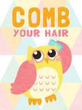 Comb your Hair Schilderijen