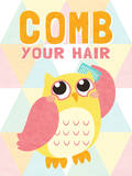 Comb your Hair Prints