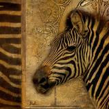 Elegant Safari I Art by Patricia Quintero-Pinto