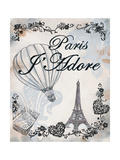 My Paris 4 Premium Giclee Print by Tina Epps