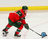 Zach Parise 2014-15 Action Photo