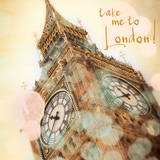 Take Me To London Prints by Emily Navas