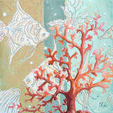 Coral Reef I Prints by Patricia Quintero-Pinto