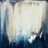Blue Illusion II Print by Patricia Quintero-Pinto