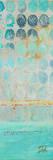 Dots on Silver Panel II Kunstdrucke von Patricia Quintero-Pinto