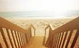 Beach Stairs Affiches par Susan Bryant