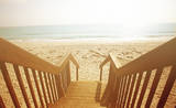 Beach Stairs Prints by Susan Bryant