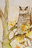 Mystic Woodland II Prints by Janice Gaynor