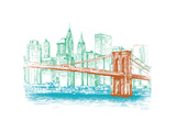 City Print Project Premium Giclee Print