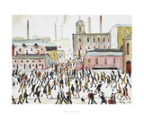 Going To Work, 1959 Prints by Laurence Stephen Lowry