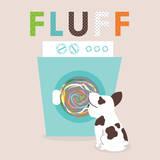Laundry Fluff Posters van Tiffany Everett