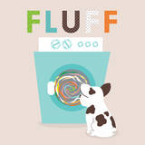 Laundry Fluff Prints by Tiffany Everett