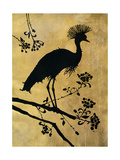 Golden Crowned Crane Premium Giclee Print by Filippo Ioco