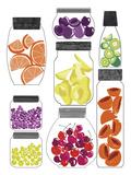 Conservateurs de Cuisine I Giclee Print by Laure Girardin-Vissian