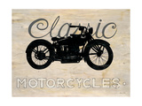 Classic Motorcycle Premium Giclee Print by Arnie Fisk