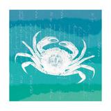 Ombre Ocean Rock Crab Premium Giclee Print by Meili Van Andel