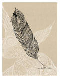 Light As A Feather Print by Paula Mills