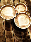 Love in a Latte Prints by  Acosta