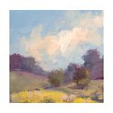 Plein Air Hill Side Premium Giclee Print by Jill Schultz McGannon