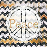 Love and Peace Square II Prints by Patricia Quintero-Pinto