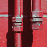 Pipes Square I Prints by Gail Peck