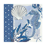 Fanciful Seahorse 1 Premium Giclee Print by Norman Wyatt Jr.